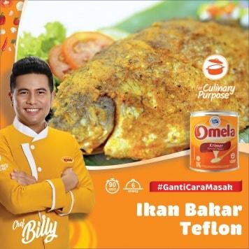 Ikan Bakar Teflon Omela